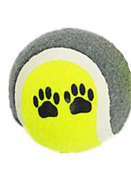 abordables -Balle Balle Colorée Caoutchouc Pour Jouet pour Chien