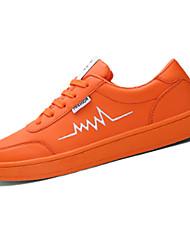 Herren-Sneaker-Outddor Lässig-PUAndere-Schwarz Blau Grün Rot Weiß Orange Hellgrün