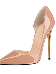 Women's Heels Spring Summer Fall Patent Leather Office & Career Casual Party & Evening Stiletto HeelRed Blue Blushing Pink Nude Dark
