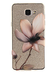 cheap -For Samsung Galaxy A5 A5(2016) A3 A3(2016) Case Cover Magnolia Pattern IMD Process Painted TPU Material Phone Case