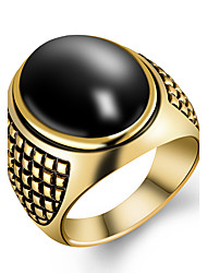 Men's Ring Fashion Costume Jewelry Resin Alloy Jewelry For Party Daily Casual Sports