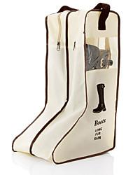 grands sacs de stockage de chaussures portables suspendus couverture bottes placard cabine de chaussures organisateur sac storaging sac