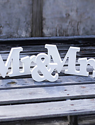 cheap -Mr & Mrs Wedding supplies PVC letter furnishing articles Wedding props Wedding Sign