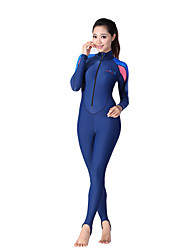 Women's 1mm Dive Skins Wetsuit Skin Full WetsuitWaterproof Breathable Thermal / Warm Quick Dry Ultraviolet Resistant Wearable Full Body