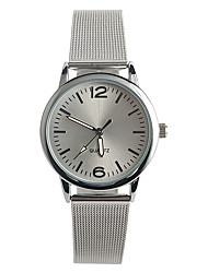 cheap -Women's Quartz Wrist Watch / Hot Sale Stainless Steel Band Casual Fashion Silver