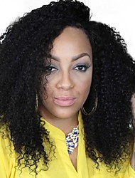 120 Density Afro Kinky Curly Full Lace Wigs Inidan Virgin Hair Glueless Human Hair Kinky Curly Wig For Black Women 8-24Inch
