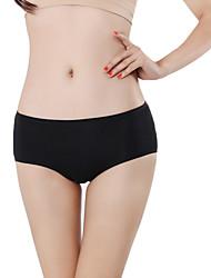 abordables -Femme Sans couture Couleur Pleine Taille médiale