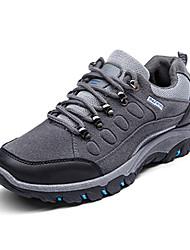 Da uomo-Sneakers-Casual-Comoda-Piatto-PU (Poliuretano)-Nero Verde Grigio