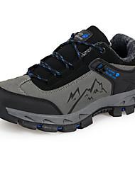 economico -Da uomo scarpe da ginnastica Comoda Microfibra Primavera Inverno Casual Escursionismo Comoda Lacci Piatto Grigio Verde 5 - 7 cm