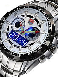 cheap -Men's Wrist watch Military Watch Dress Watch Fashion Watch Sport Watch Quartz Digital Calendar / date / day Alloy Band Charm Luxury