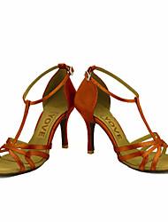 Недорогие -Для женщин-Атлас-Персонализируемая(Черный Синий Желтый Розовый Фиолетовый Красный Белый) -Латина Сальса