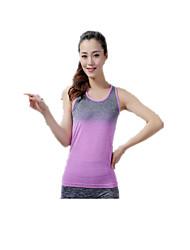 Per donna Canotta per allenamento Asciugatura rapida Traspirante Morbido Top per Yoga Pilates Esercizi di fitness Attività ricreative
