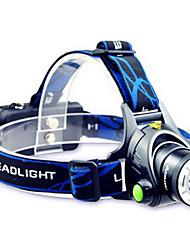 Недорогие -ANOWL LS2713397 Налобные фонари Светодиодная лампа 700lm 3 Режим освещения с батареей и зарядным устройством Портативные / Для