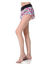 Yoga Pants Shorts Quick Dry Breathable Compression Ultra Light Fabric Stretchy Sports Wear Women's Yokaland Yoga Pilates Exercise &