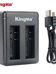 caricabatterie doppio slot Kingma bm037 per Xiaomi Xiaoyi e la batteria az16-1 --black