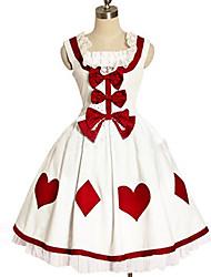 Lolita Classique/Traditionnelle Princesse Femme Une Pièce Robes Cosplay Sans Manches