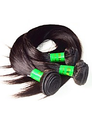 10a indian virgin hair silk straight 3bundles 300g lot natural black color 100% unprocessed indian human hair weaves bundles no shedding soft smooth