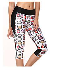 cheap -Women's Running Pants Breathable Leggings Bottoms Yoga Exercise & Fitness Running Cotton Slim S M L