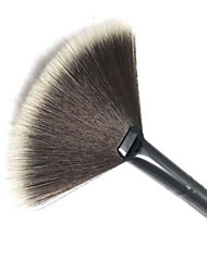 cheap -1Pc Slim Fan Shape Cosmetic Brush Powder Concealer Blending Finishing Highlighter Highlighting Makeup Brush Nail Art Brush