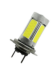 2Pcs 6000K High Power H7 COB LED Fog Driving Headlight Light Lamp Bulb White 12-24V
