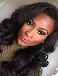 New Style Brazilian Human Virgin Hair Loose Wave Full  Lace Wig High Quality With Baby Hair For Black Woman