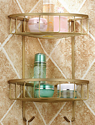 cheap -Bathroom Shelf Antique Brass Antique Copper