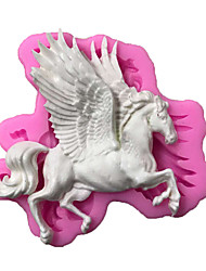 Horse Pattern  Candy Fondant Cake Molds  For The Kitchen Baking Molds