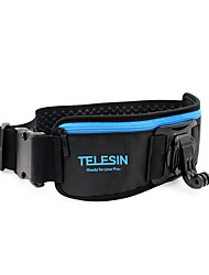 cheap -TELESIN Waist Strap Band Mount With J-hook Mount Vertical Buckle for GoPro Hero 5 4 3 Xiaomi yi 2 Action Camera Accessories