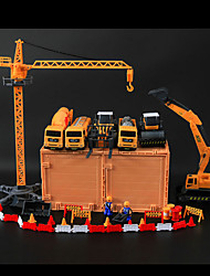 cheap -Parking Garage Toy Sets Construction Vehicle Farm Vehicle Toys Novelty Car Plastic Metal Classic & Timeless Pieces Children's Day Gift