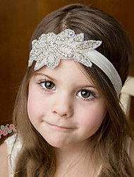 cheap -Girls' Boys' Hair Accessories, All Seasons Cotton Lace Headbands - White Blushing Pink Beige Gray