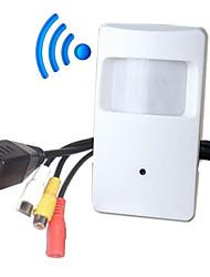 abordables -2 MP Intérieur with Jour NuitDétection de présence Dual stream Accès à Distance Prêt à l'emploi Wi-Fi Protected Setup) IP Camera