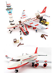 Building Blocks Toys Aircraft Cool 856 Pieces Boys Boys' Carnival Children's Day Birthday Gift