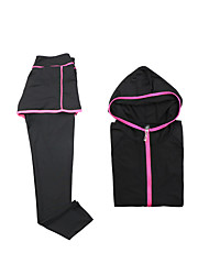 Women's Tracksuit Long Sleeves Quick Dry Breathable Pants / Trousers Hoodie Clothing Suits Top for Yoga Fishing Exercise & Fitness Running
