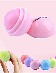 1Pcs Ball Lip Balm Lipstick Lip Protector Sweet Taste Embellish Lip Ball Makeup Lipstick Gloss Cosmetic Accessories