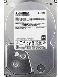 abordables -Toshiba 2 To DVR disque dur 5700rpm SATA 3.0 (6Gb / s) 32Mo cachette 3.5 pouces-DT01ABA200V