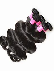 guangzhou hair supplier 5bundles 500g deals brazilian body wave human hair extensions natural black color 100% 8a unprocessed virgin hair weaves