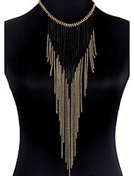 Недорогие -Украшения для тела Цепь Тела / Belly Chain Сплав Золотой Богемные Мода Бижутерия Назначение Новогодние подарки Для вечеринок Особые