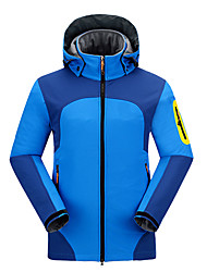 cheap -Men's Hiking Jacket Outdoor Winter Waterproof Thermal / Warm Quick Dry Windproof Ultraviolet Resistant Anti-Eradiation Wearable Breathable