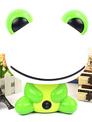 Pretty Cute Frog  Cartoon Animal LED Night Light Baby Room Sleeping Light Bedroom Desk Lamp Night Lamp Best for Gifts