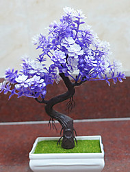 1Pc The New Small Bonsai Flowers Flower Simulation Office Furniture Decoration Flower Set