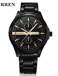 Pánské Sportovní hodinky Módní hodinky Náramkové hodinky Křemenný Slitina Kapela Běžné nošení Luxusní Vícebarevný