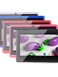 abordables -A33 7 pouce Android Tablet (Android 4.4 1024 x 600 Quad Core 512MB+8GB) / TFT / # / 32 / TFT / Micro USB