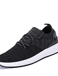cheap -Men's Shoes Mesh Winter Spring Summer Fall Comfort Light Soles Athletic Shoes Running Shoes Lace-up For Athletic Casual Office & Career