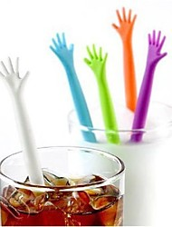 cheap -5Pcs/Set  Help Me Coffee Stirrer Stirring Rod Juices Spoon Bar Drink  Coffee Stir Stick