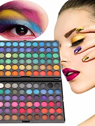 cheap -120 Color Fashion Eye Shadow Palette Cosmetics Eye Make Up Tool Makeup Eye Shadow Palette Eyeshadow Set For Women 4 Style Color
