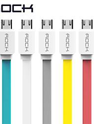 USB 2.0 Flach Kabel Für Samsung Huawei Sony HTC Lenovo Xiaomi 100 cm TPE