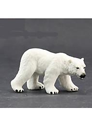 cheap -Action Figures & Stuffed Animals Toys Horse Lion Zebra Bear Toys Polar bear Animals Novelty Simulation Boys' Girls' Pieces