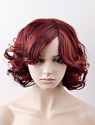 cheap -Women Synthetic Wig Capless Short Loose Wave Ash Brown Natural Wig Halloween Wig Carnival Wig Costume Wigs