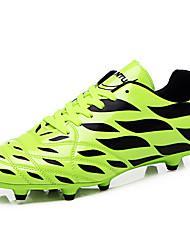baratos -Homens sapatos Sintético Primavera Outono Conforto Tênis Futebol Cadarço para Atlético Laranja Verde Azul