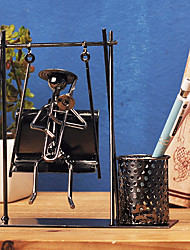 The model toy furnishing articles wrought iron handicraft old creative decoration